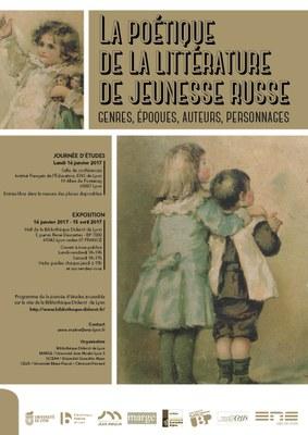 Image - affiche de l'exposition littérature jeunesse russe