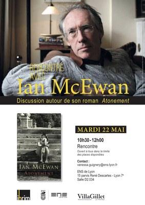 Affiche Ian McEwan