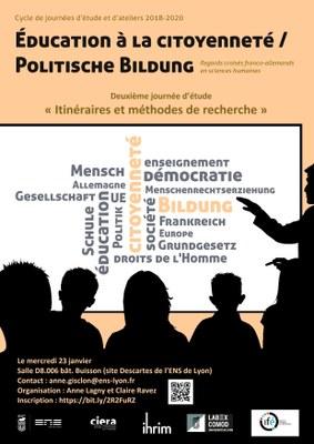 Education à la citoyenneté journée 2